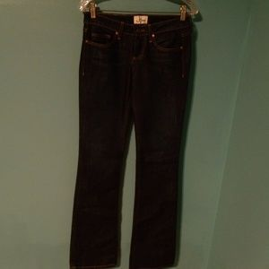"J HAUS ""Dolly"" Denim Blue Jeans, 26 NWT $135"